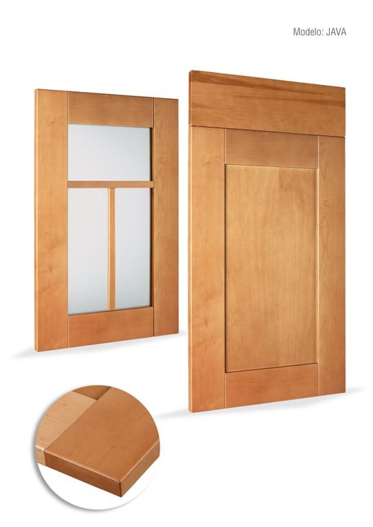 Muebles de cocina lacados formica madera la villa de - Muebles villaviciosa de odon ...